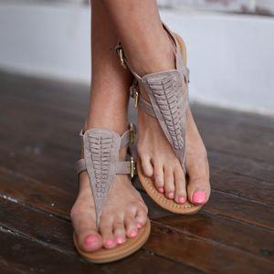 RILEY Boho Sandal - TAUPE